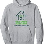 Love Never Grows Old Hoodie